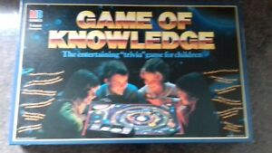 Game Of Knowledge Board Game - Age 7-adult, Used But Complete