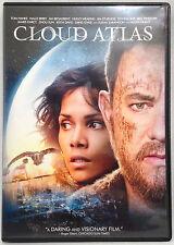 Cloud Atlas (DVD, 2012) Widescreen, Tom Hanks, Halle Berry, Jim Broadbent