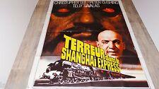 TERREUR DANS LE SHANGHAI EXPRESS  ! christopher lee p cushing  affiche cinema