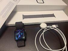 Apple Watch Series 4 GPS Space Grey Alluminium Case Black Sport Loop