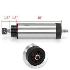 1.5KW ER16 4 bearing Air cooling Spindle Motor CNC Mill Engraving