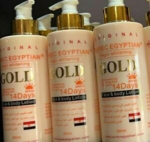 PURE EGYPTIAN GOLD MAGIC WHITENING LOTION -  directly from manufacturer