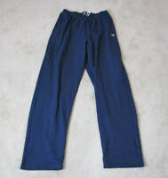 VINTAGE Champion Sweat Pants Adult Extra Large Navy Blue Gray Spell Out Mens 90s