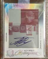 2009-2010 UD THE CUP Artem Anisimov AUTO PRINTING (Print) PLATE ROOKIE RC 1/1