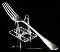 Silver Dessert Fork, London 1875, Martin, Hall & Co