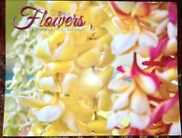 FLOWERS OF HAWAII 2021 Calendar BRAND NEW! Island Treasures Collection