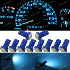 10x Ice Blue T5 73 74 Instrument Gauge Car Dashboard LED Light Bulb For Nissan