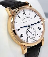 A. Lange & Sohne Richard Lange 260.032 18K Rose Gold Very Limited B/PAPERS MINT!