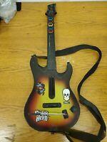 Guitar Hero PlayStation 2 PS2 Sunburst Red Octane 95449.805 No Dongle UNTESTED