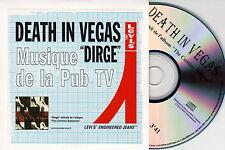 CD CARTONNE CARDSLEEVE COLLECTOR 1T DEATH IN VEGAS DIRGE PUB TV LEVI'S 2000
