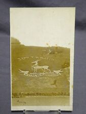 Antique Military Postcard - 33rd T.R. BATTN Royal Warwickshire Regiment