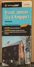 2001 Universal Street Map of Bristol, Johnson City & Kingsport, Tennessee
