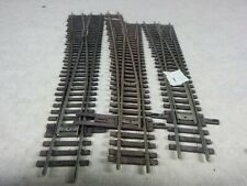#1-HO TRACK}   SHINOHARA CODE 100 #6 LEFT HAND SWITCH   LOT OF 3