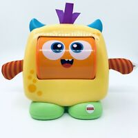 Fisher-Price Fun Feelings Monster, Baby Toy with Rolling Emotions and Fun Sounds