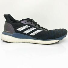 Adidas Mens Solar Drive PWI 001001 Black Running Shoes Lace Up Low Top Size 9.5
