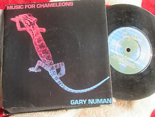 "Gary Numan ‎– Music For Chameleons Beggars Banquet BEG 70 UK 7"" Vinyl single"