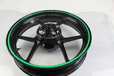 2007 Kawasaki Ninja Zx6r Zx600p Front Wheel Rim STRAIGHT 17 X 3.50