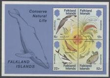 MONDE MARIN Falkland 1 bloc de 1984 **
