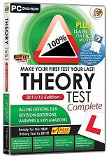 Driving Test Theory Test Complete 2012 (PC)New/Sealed