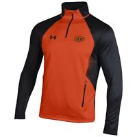 Oklahoma State Cowboys Under Armour Men's NCAA 1/4 Zip Pullover Shirt ALL SIZES