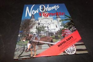 New Orleans Vignette Hotel Guide Book Recipes History Mardi Gras Map Shopping