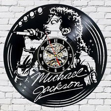 Michael Jackson_Exclusive wall clock made of vinyl record_GIFT