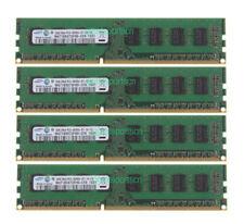 SAMSUNG 8GB 4PCS 2GB 2RX8 PC3-8500U 240PIN DDR3 1066MHz NON-ECC DIMM Desktop RAM