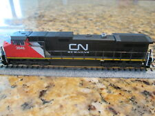 Custom Detailed Kato Ge C44-9W, Dcc, N Scale Diesel Engine Cn #2646