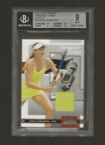 Maria Sharapova 2005 Ace Authentic Signature Series JERSEYS BGS 9 W/ 9.5 CENTER!