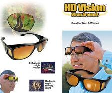 La envoltura real de conducción Visión Óptica alternativas de soluciones durante la noche antirreflejo HD Gafas NUEVO