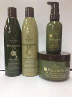 Hair Chemist Macadamia Revitalizing Combo: Shampoo+Conditioner, Masque & Serum