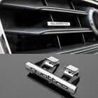 Audi QUATTRO Grill Emblem Logo Aufkleber S Q A 1 3 4 5 6 7 8 Sline S Line Kühler