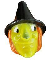 Lot 26 jack o'lantern Halloween Decor Blow Mold Pumpkin Witch Skull Heads Bin7