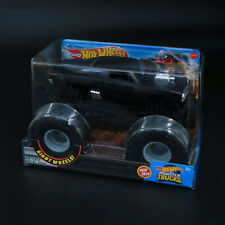 Hot Wheels Monster Trucks Dodge Charger R/t Giant Wheels 1 24 Large Scale