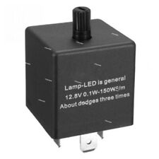 3-Pin Adjustable Frequency LED Flasher Relay for Turn Signal Light Hyper Flash