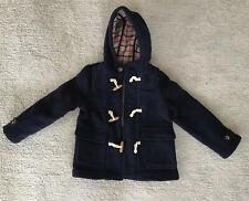 M&S Boys girls Paddington Bear Heritage Smart Winter Duffle Coat 4-5 Years.