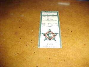1993 Oakland A's v Baltimore Orioles Baseball Ticket Cal Ripken Hit