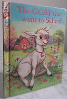1952 I Capra That Went To School BY S.R.francis R.mc Infi Ne IN8