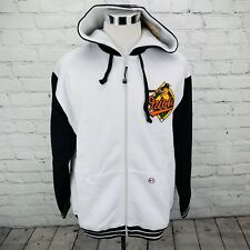 Baltimore Orioles Stitches Mens Hoodie Jacket Zip Up Baseball Size Large NWT