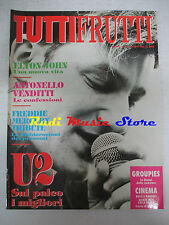 rivista TUTTIFRUTTI 117/1992 U2 Freddie Mecury Elton John Venditti Church No cd