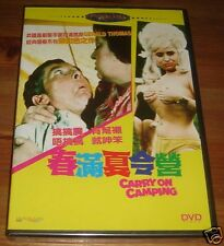 CARRY ON CAMPING (NEW DVD) SID JAMES & TERRY SCOTT R0