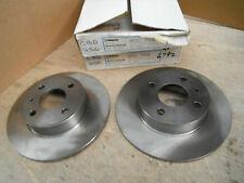 For Alfa Romeo 33 Arna and Nissan Cherry front brake discs x 2 Breco BDC708