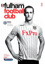 Fulham V Chelsea 2012/13 programa Mint