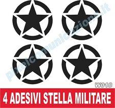 WALL STICKERS ADESIVI MURALI STELLA MILITARE STAR TUNING AUTO 20 cm