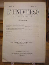 (SICILIA-ARCHEOLOGIA-STORIA) RIVISTA L'UNIVERSO 1924