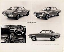 Mazda RX-4 Saloon 1973-74 Original UK Market 4 Image Press Photograph