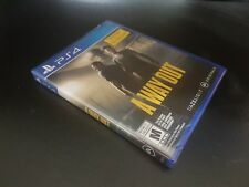 A Way Out [PS4] [PlayStation 4] [2018] [Brand New Factory Sealed!]