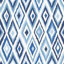 Rasch Papel pintado Cabana 148634 ROMBO Rombo Blanco Azul Papel de Pared Pintado