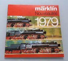 CATALOGUE MARKLIN 1979 - TRAIN ELECTRIQUE HO 1/87