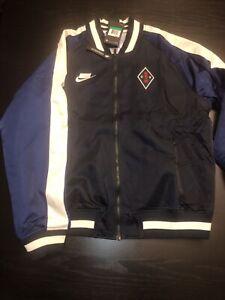 NEW Nike Sportswear NSW Mens Woven Jacket Navy/White AR1615-475 Size XL $180